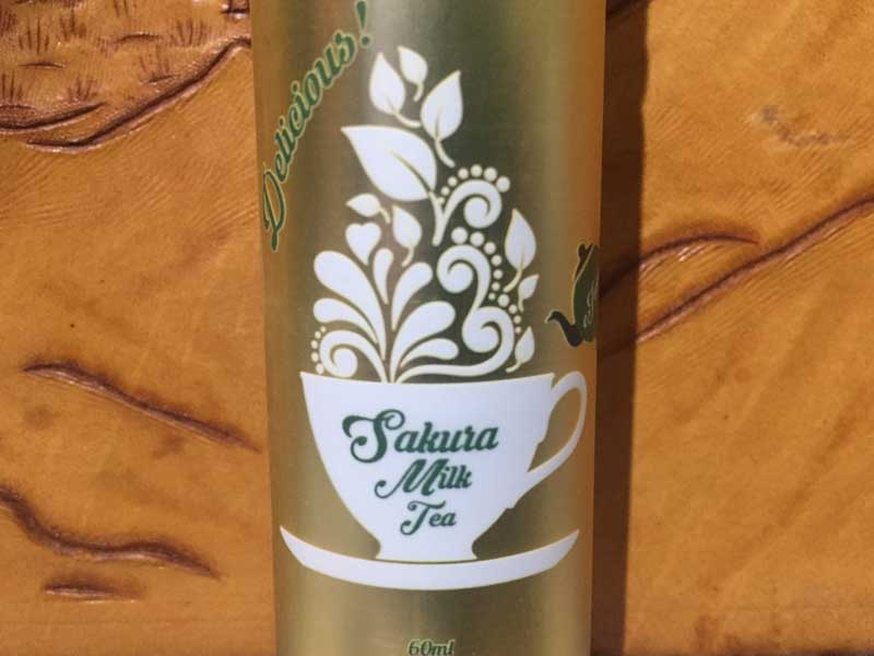 Basic Vapor 60ml/Sakura Milk Tea 桜ミルクティー