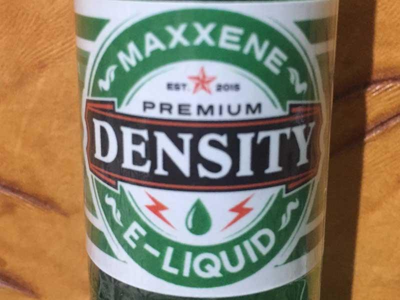 フィリピン製 Vape E-Juice DENSITY MAXXENE30ml /マキシーネ メンソール モヒート味