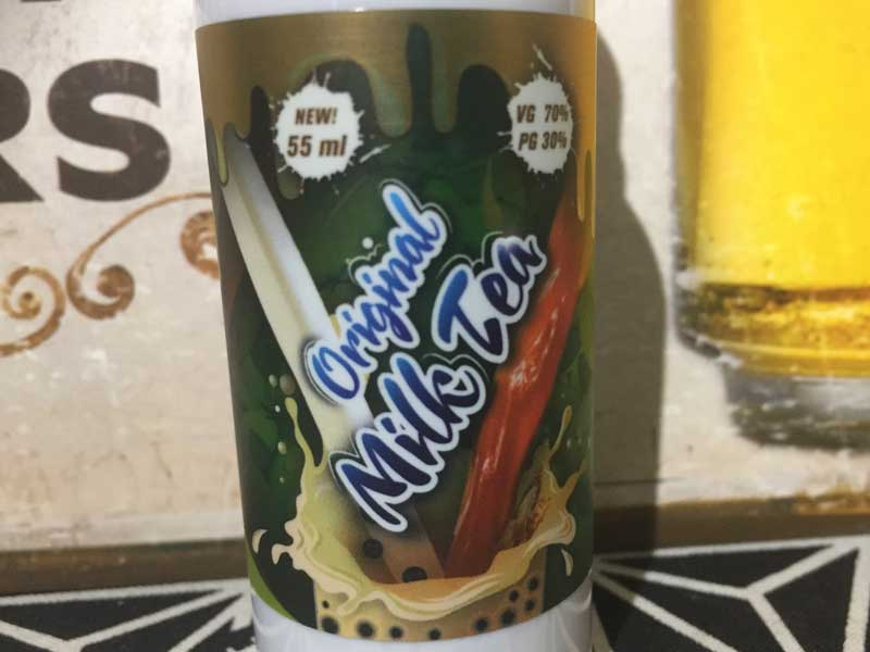 FIZZY JUICE/Original Milk Tea 55ml l/フィジージュース