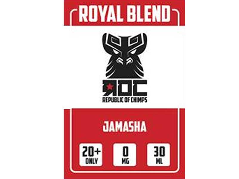 ROC(Republic of Chimps) Royal Blend/Jamasha ジャスミンティー・バニラアイス・緑茶