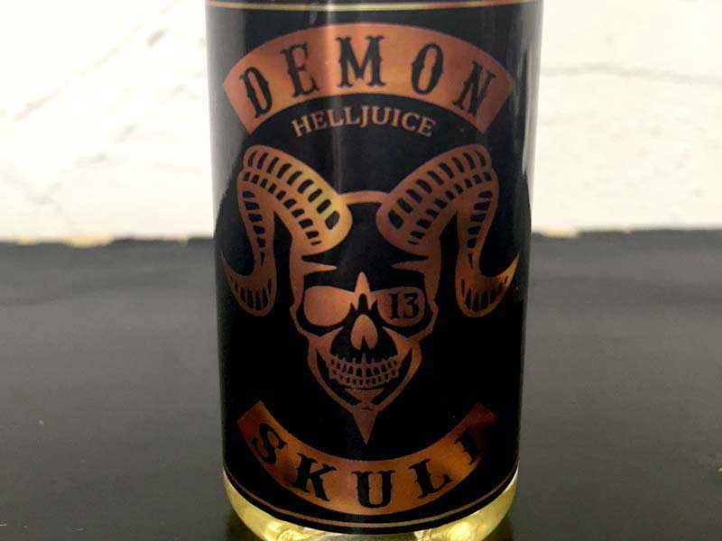Skull Original x Demon Vape コラボリキッド Demon Skull