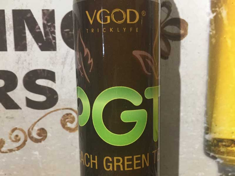V GODPEACH GREEN TEA 桃と緑茶のブレンドティー